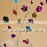 Beautiful Hanging Acrylic Rose Flower Branch Crystal Spray for Christmas Decoration