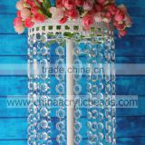 1.5M white plateing wedding flower stand holder for party and event centerpiece decoration