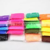 plasticine 50 gr with Super light clay plasticine non-toxic authentic color bounce light clay mud mud mud in space