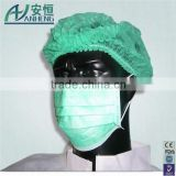 Disposable Nonwoven Face Mask 3 ply with Earloop dispsoable face mask from China disposable surgical pm 2.5 face mask