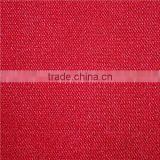 Red colour tricot fabric FDY twill fabric 100% polyester sofa fabric warp knitting fabric