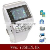 Q7 watch mobile phone dual sim1.33 inch 260K color TFT touch screen2.0 MP high definition camera