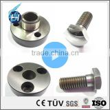 ISO 9001 Chinese customized high quality CNC machining stainless steel gears shaft with best price