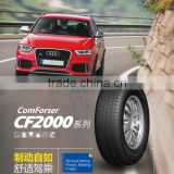 tyre for passenger vehicle tyres China famous brand comforser solid semi-radial tire manufacturer