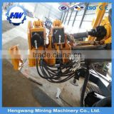 2015 Best Selling Portable crawler hydraulic rotary drilling rig/ top hammer drilling rig/used borehole drilling rig