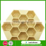 Wholesale Honeycomb Shape Silicone Ice Cube Tray ,Bee's Nest Silicone Ice Cube Tray Mold
