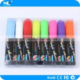 Twin tips fluorescent marker pen / wipe clean marker pen / erasable highlighter pen