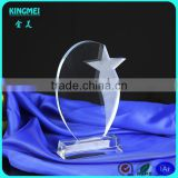 Elegant Good Crystal Manufacturer Supply Crystal Gifts Crystal Award Item Glass Star Trophy