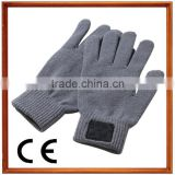 Fashion touch screen colorful mobile phone touch smartphone driving glove gift for men women winter warm gloves
