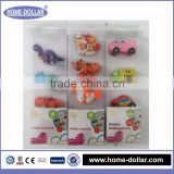 Animal wholesale promotional gifts made in china new design funny custom eraser for school