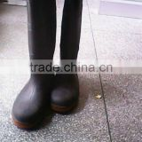 PVC safety high rain boots