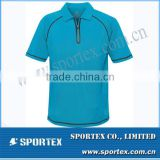 Mens High Quality Luxury Blue Golf Polo T Shirt MZ0165