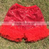 bulk Wholesale Various Colors Sequins Short/ Petti Shorts/Pantie /Baby Shorts Girl Trousers Cloth