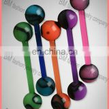 flat free sample tongue rings jewelry body piercing