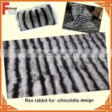 Hotsale Chinchilla Rex Rabbit Fur