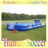 12 people inflatable human soccer table field/football pitch for sale