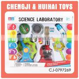 science laboratory kids microscope set