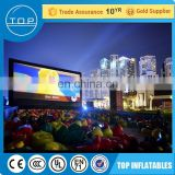 Brand new projector inflatables led advertising screen for wholesales