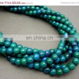 Chrysocolla 6mm round beads/Quartz Gemstone Beads/Natural gemstone beads suppliers/Semi Precious Gemstone Beads
