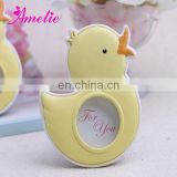 AN004 2014 New Product Resin Duck Photo Frame Baby Souvenirs