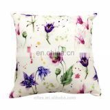Wholesale Custom Plain Simple Pattern Chair Cushion Pillow 100% Cotton Hand Embroidered adult car seat cushion