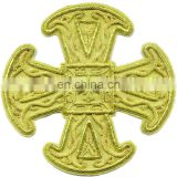 Byzantine Liturgical Embroidered Crosses for vestment, Stole,