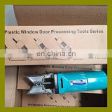 Electric portable Plastic window corner cleaning tool for frame profile external welding tumor cleaning