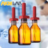 AKMLAB Glassware Amber Dropping Bottle For Laboratory