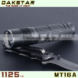 DAKSTAR MT16A XML T6 1125LM CREE Battery High Power Rechargeable Police 26650 LED Flashlight