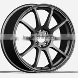 via qualified aluminium alloy wheel 5X120 fit for BMW sport cars good material alloy A356 from ISO factory