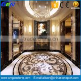 Factory Supply Beautiful Waterjet Marble Mosaic Medallion