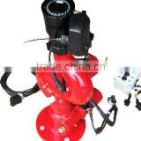 Fire fighting monitor,electric drive and remote control,application on fire fighting,water truck or riot control