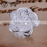 Lekani artificial rose flower filigree silvers                                                                         Quality Choice