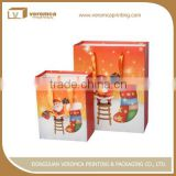 Fancy style top sell christmas paper bag