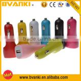Car Batteries Online Phone Chargers Shenzhen Single Car Charger,Current Meter And Voltage One Port USB Car Charger For Sale