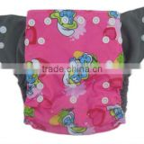 Prints Charcoal Bamboo Nappy Reusable High Quality Baby Nappy