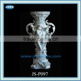 Chinese decorative antique large marble vases