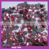 wholesale new fashion high quality red/pink/green/blue/gold purple korean loose hot fix rhinestone for clothes decoration