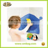 BABY Corner Bath Toy Organiser - Strong Suction Cups Hold It Firmly In Place -
