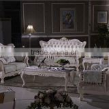 fabric sofa set / wooden frame sofa / beauty salon furniture L369