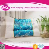 chinese 100% cotton cover with silk white goose down pillow for five-star hotels