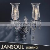 Made in China glass shade white murano wall lamp italian designs from Asia                                                                         Quality Choice
