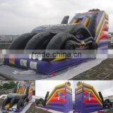 Slide Type PVC Tarpaulin Material Commercial Inflatable Tank Slide Price For sale