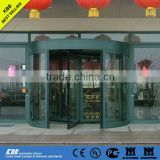 Automatic revolving door, security glass, aluminium frame, Anodizing