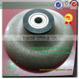 high efficiency router bit for stone chamfer-diamond-diamond chanfer wheel for stone grinding