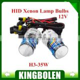 5W HID Xenon Single Bulb Lamp 12v For Headlight Conversion H1 H3 H4 H7 H8/H9/H11 880/881 9005 9006 with 6000K