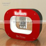 Personalized Cigarette Floating Display Case From China