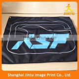Eco solvent hanging flex fabric advertising banner flag for outdoor