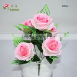 Latex Rose For Wedding Bouquet Artificial Real Touch Silk Flowers