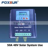 Competitive price Solar System Controller Application and 50A 48V PWM auto Rated Voltage MPPT solar charge controller